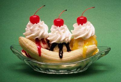 Десерт Банановый поцелуй